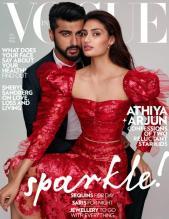 Athiya and Arjun for Vogue India